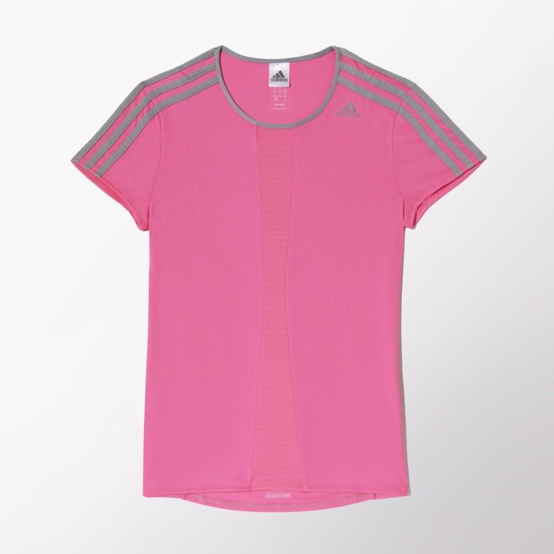 Camiseta Response Feminina Rosa
